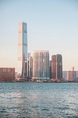 Wall Mural - Tallest skyscraper in Kowloon area, Hong Kong