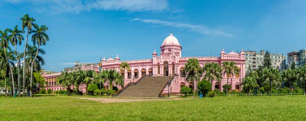 Panoramic view at the Mughal Palace - Ahsan Manzil in Dhaka, Bangladesh Fototapete