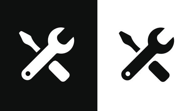 user experience icon vector design black and white