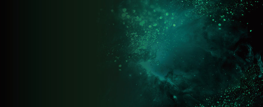 Background ダークな幻想的な背景イラスト dark green,abstract,texture,grunge
