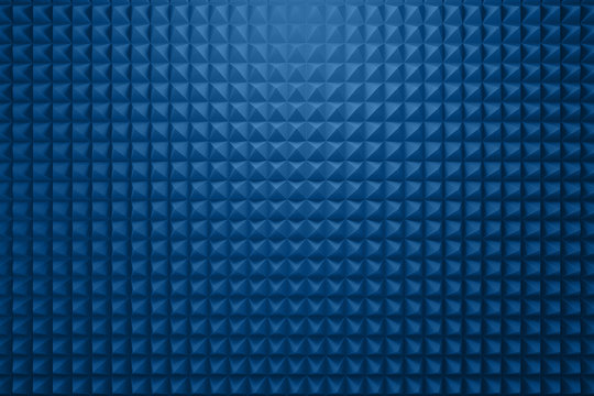 Acoustic foam panel background