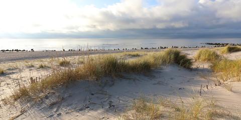 Küstenlandschaft auf Insel Sylt