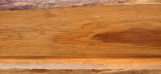 ein Holzbrett als räumlicher Hintergrund