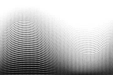 Light halftone dots pattern texture background