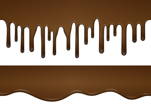 垂れるチョコレート