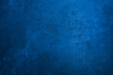 Old stone texture background toned classic blue color Copy space Fototapete