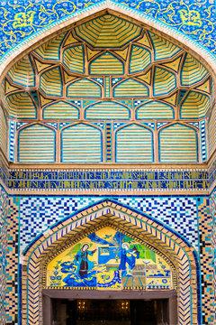 Door, Holy Savior (Vank) Armenian Cathedral, Esfahan, Iran