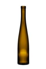 Fototapeta Pusta szklana butelka na białym tle obraz