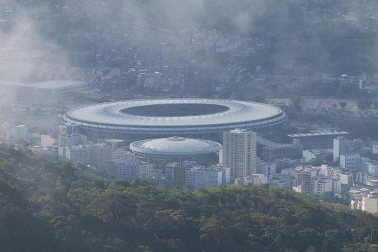 Maracana stadion in Rio de Janeiro, Brazil, South America