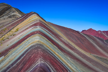 Poster South America Country Rainbow Mountain, Vinicunca