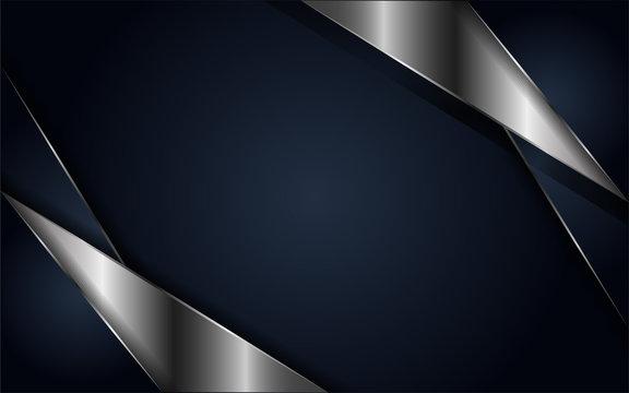 luxurious navy background metallic lines