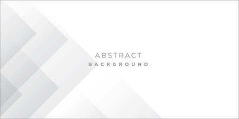 White Grey Silver Box Rectangle Abstract Background Vector Presentation Design Fototapete