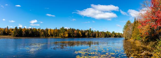 A Beautiful Maine Fall Landscape