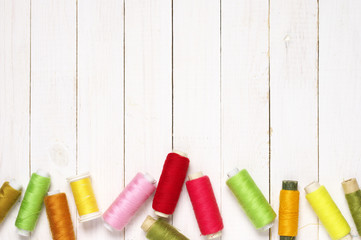 Set of sewing spools