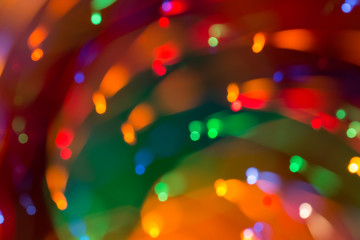 Abstract picture of bright colored lights