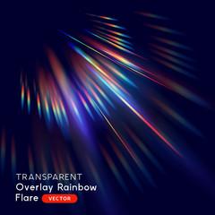 Radiant Rainbow Lens Falre Effect