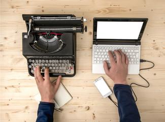 Metodi di scrittura a confronto