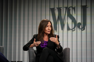 Beth Galetti, Senior Vice President of Human Resources at Amazon, speaks during the Wall Street Journal CEO Council