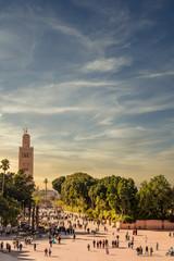 Mosque of Koutoubia in Marrakech, Morocco