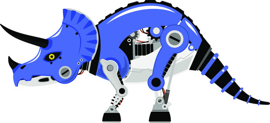 robot triceratops