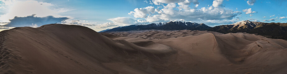 Poster Cappuccino Great Sand Dunes National Park