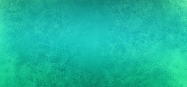 Old blue green paper background illustration with soft blurred texture grunge, elegant turquoise background in distressed southwestern vintage design