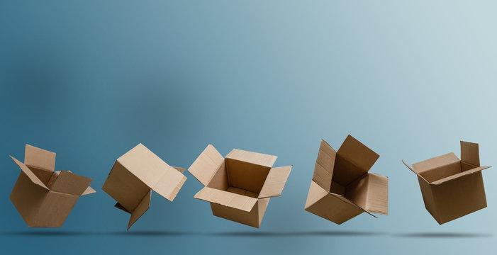 Cartoon Recycle Box Big Set