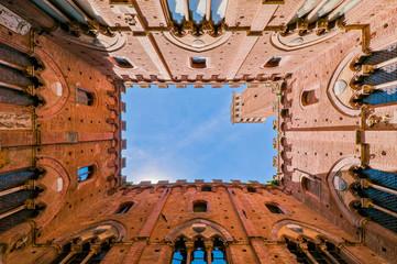 Siena Altstadt in Italien