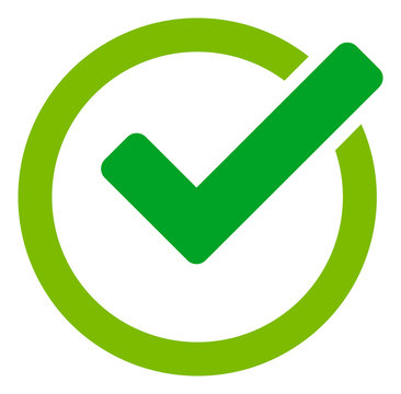 Validity vector icon. Flat Validity symbol is isolated on a white background.