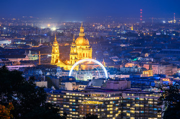 St. Stephen's Basilica is a Roman Catholic basilica in Budapest, Hungary. It was the sixth largest church building in Hungary before 1920 Wall mural