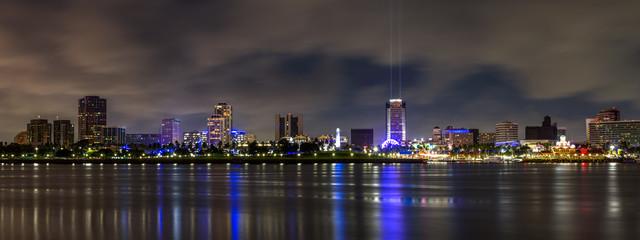 Long Beach City at Night
