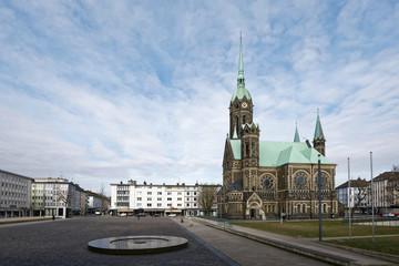 Nordrhein-Westfalen - Mönchengladbach - Hauptkirche Rheydt