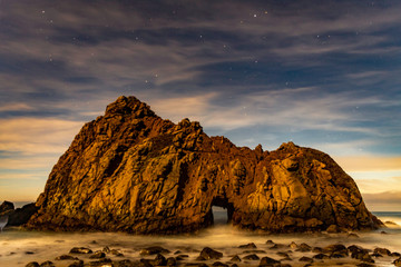 The Keyhole at Pfeiffer Beach Big Sur
