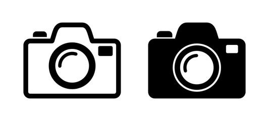 Fototapeta aparat fotograficzny ikona obraz