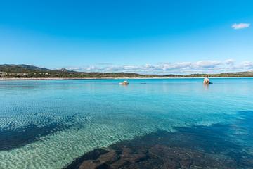 Lu Impostu beach in Sardinia, Italy Fototapete