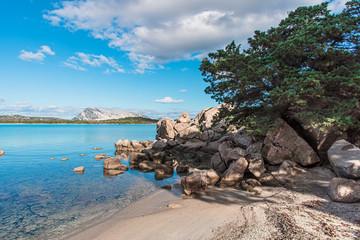 Lu Impostu beach in Sardinia, Italy Fotomurales