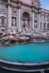 Photo sur Aluminium Rome Trevi Fountain in Rome, Italy
