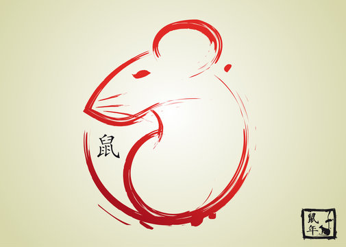 2020 Year of the Rat - Chinese New Year