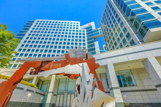 Adobe Headquarters sculpture