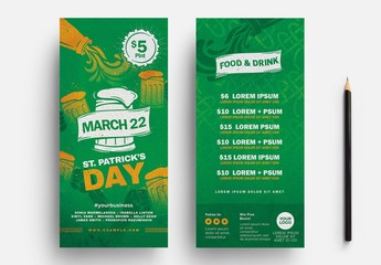St. Patrick'S Day Event Flyer Layout