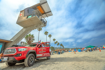 Lifeguard fire-rescue and tower