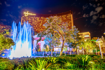 Wynn Fountain dancing show