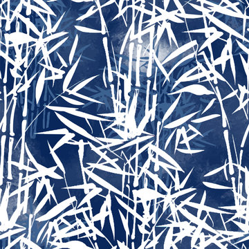 tropical bamboo pattern