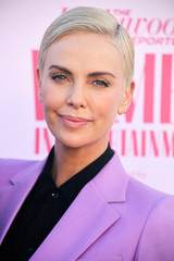 Charlize Theron attends the Hollywood Reporter's annual Women in Entertainment Breakfast Gala in Los Angeles