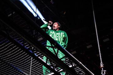 U.S. rap artist ASAP Rocky performs in Stockholm
