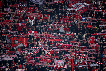 Champions League - Group B - Olympiacos v Crvena Zvezda