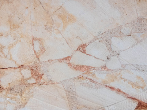 Light pink marble grinded texture. Stone background texture concept