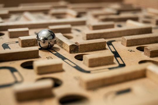 Marble Run Maze