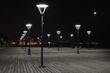 street at night Fotomurales