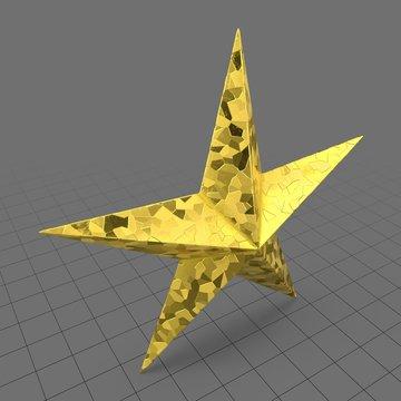 Christmas star ornament 2